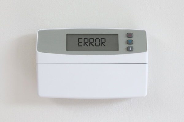 thermostat not reaching set temperature