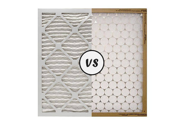 Pleated vs Non-Pleated Air Filters